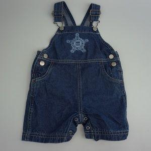 Apple & Orange Baby Boys Jeans Denim Jumpsuit